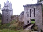 Chateau de Largoet in Elven, Brittany. Henry Tudor was kept prisoner here