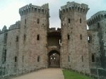 Raglan Castle, where Henry Tudor was brought up until he was 14 years old