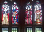 Stained Glass Window's at Cardiff Castle of Jasper and Henry Tudor, once owned by Jasper as Duke of Bedford