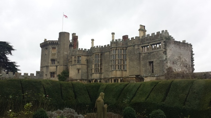 Thornbury Castle from the Tudor Gardens